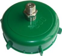 The S30 Pin Cap with Stainless Steel Pin Valve for Pressure Barrel Kegs Using 8 gram Cartridges
